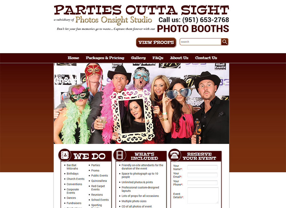 Parties Outta Sight Photo Booths